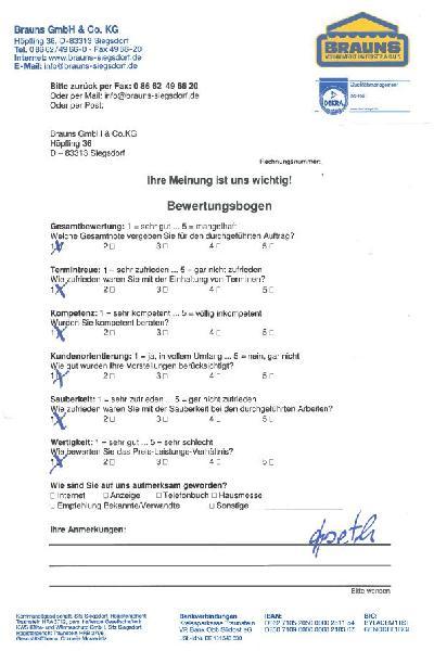 Referenz | Brauns GmbH & Co.KG